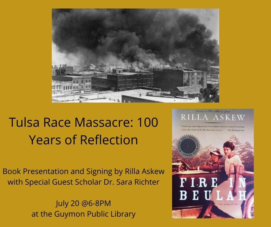 Tulsa Race Massacre Flyer